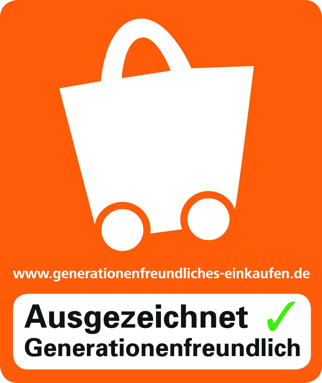 Ausgezeichnet – Generationenfreundliches  Einkaufen
